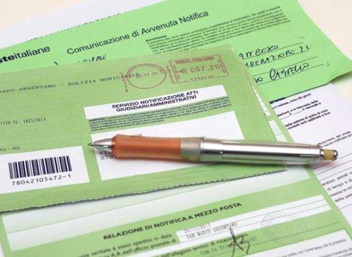 Disciplinare rilascio licenze servizi di notificazione a mezzo posta di atti giudiziari e comunicazioni connesse e di violazioni del codice della strada