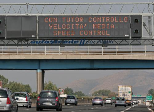 Tutor riattivati in autostrada, ecco tutte le tratte sorvegliate
